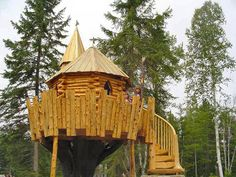 Image detail for -Log Tree Houses | Premium Wood Works