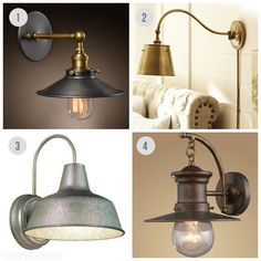 Wall Sconces - The Inspired Room Industrial Lighting Sources