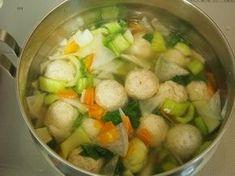 えのき入りふわふわ鶏だんごとたっぷり野菜のスープ by 河埜 玲子 | レシピサイト「Nadia | ナディア」プロの料理を無料で検索