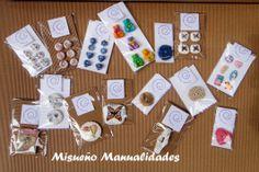 Botones hechos a  mano de Fimo: infantiles, vintage, grandes para bolso. Botones sueltos y paquetes de 4-8. www.misuenyo.com / www.misuenyo.es Monopoly, Buttons, Facts, The Creation, Miniatures, Manualidades, Fimo