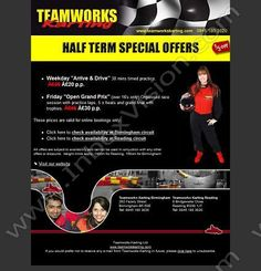 Company:  Teamworks Karting Subject:  1/3rd off half term karting               INBOXVISION providing email design ideas and email marketing intelligence.     http://www.inboxvision.com/blog  #EmailMarketing #DigitalMarketing #EmailDesign #EmailTemplate #InboxVision #Emailideas #NewsletterIdeas