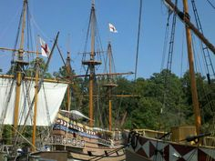 Jamestown Settlement in Jamestown, VA