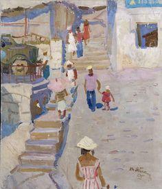 Busy Street - Tatiana Yablonskaya 1955