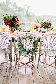 Al Fresco Rustic Italian Dinner Party with @serenaandlily Riviera Chairs.