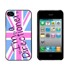 I'm a Directioner 1D High quality plastic and aluminium hard cover/case protector for iPhone 4/4s.