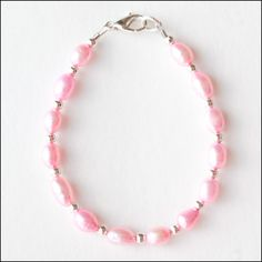 Simply Pink Freshwater Pearls Flower by lajoliefilleboutique, $6.50