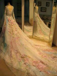 Don't know who made it but it's a beautiful dress