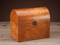 Handcrafted Burl Keepsake Box by PennerBrothers on Etsy, $300.00