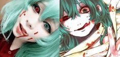 This Eto cosplay is just