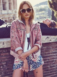 Free People Play My Song Hooded Jacket at Free People Clothing Boutique