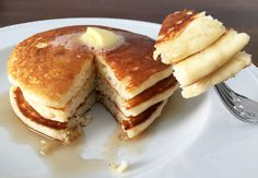 Alton Brown's Pancakes: When I was growing up, pancakes were a culinary rite of passage. I remember my first batch.