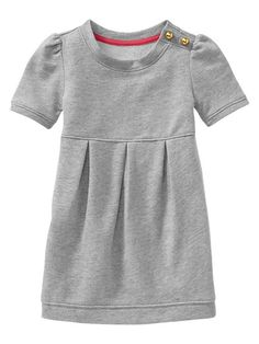 Gap | French terry knit dress. for A gray