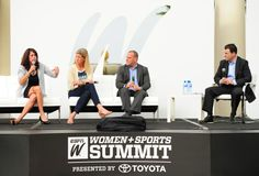 """""""Sports in all its forms and definitions have never been more impactful on the lives of girls and women,"""" said Christine Driessen, ESPN CFO, to an audience of top female athletes and women in sports influencers at the 5th Annual espnW Women + Sports Summit."""