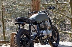 Honda CB750 F2 by Left Hand Cycles