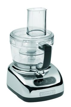 KitchenAid KFP740CR 9-Cup Food Processor with 4-Cup Mini Bowl, Chrome KitchenAid,http://www.amazon.com/dp/B0007SXIMM/ref=cm_sw_r_pi_dp_4fkPsb18Z5BK4YGN