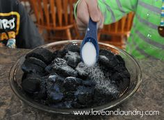 How to Grow Crystals on Charcoal - Love and Laundry