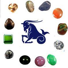 Gem stones for Capricorn.