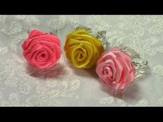How to make Small Rose, DIY, Tutorial, Romantic Accessories, Rose Ring
