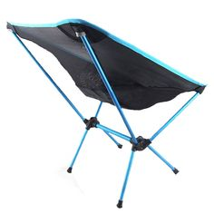 Dropshipping Collapsible Moon Chair Fishing Camping Bbq Stool Folding Extended Hiking Seat Garden Ultralight Office Furniture Superior Performance Furniture Beach Chairs