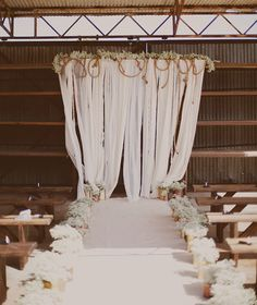 Rope Backdrop.  http://greenweddingshoes.com/industrial-san-diego-wedding-cimm-gil/?utm_source=Green+Wedding+Shoes&utm_campaign=5a527fcf12-Daily_RSS&utm_medium=email&utm_term=0_97f3318193-5a527fcf12-111528945