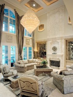 Mediterranean Living Room Design, Pictures, Remodel, Decor and Ideas - page 45