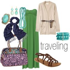 definitely a great traveling outfit--versatility is key