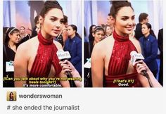 Gal Gadot is Wonder Woman end of discussion.