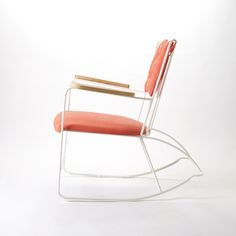 Rocker White by Race Furniture