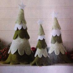 Sundance felt Christmas trees
