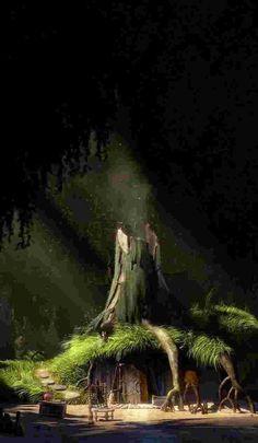 Shrek You can find Shrek and more on our website. Fantasy Art Landscapes, Fantasy Landscape, Images Disney, Disney Art, Disney Phone Wallpaper, Cartoon Wallpaper, Aesthetic Backgrounds, Aesthetic Wallpapers, Donia