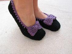Ravelry: Crochet slippers pattern by Eva Unger