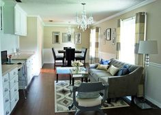 Monica Wants It: A Lifestyle Blog: Office & Dining Room Reveal {DIY Home Makeover}