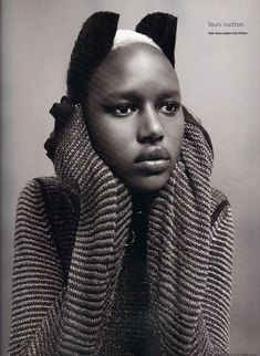 TRIP DOWN MEMORY LANE: AJAK DENG: THE PRIDE OF SOUTH SUDAN AND DINKA PEOPLE WHO SUCCESSFULLY CHANGED FROM A REFUGEE TO SUPERMODEL #beautiful brown black queens girl with blonde hair