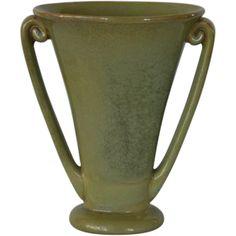 Beautiful Fulper Art Pottery Vase  ~ Mold 724 ~ Fulper Pottery Flemington, New Jersey 1922-1928 @rubylanecom #VintagePottery #rubylane