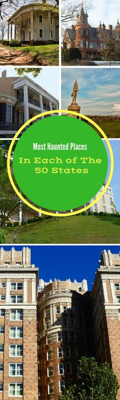 Here's the most haunted place or house in each of the 50 states