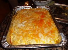 Patti Labelle's Macaroni and Cheese. I'm always looking for a fab new macncheese recipe! Think Food, I Love Food, Good Food, Yummy Food, Tasty, Thanksgiving Recipes, Holiday Recipes, Great Recipes, Favorite Recipes