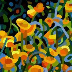 Tapestry of Poppies - Mandy Budan
