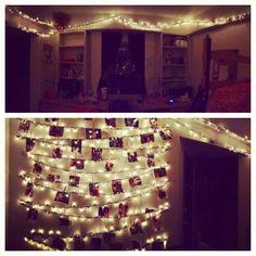 Dorm room decor #dorm #lights
