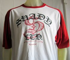 Shady LTD Previously Unreleased Material Shirt Authentic Article White Red  XL #SHadyLTD #GraphicTee