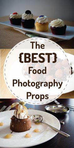 The Best Food Photography Props | purelivingforlife.com #photography #marketing #blogging