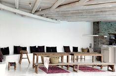San Giorgio Hotel Mykonos is a Wedding Venue in Mikonos, Egeo, Greece. See photos and contact San Giorgio Hotel Mykonos for a tour. Design Hotel, Restaurant Design, Restaurant Bar, San Giorgio Mykonos, Interior Design Kitchen, Interior Decorating, Mykonos Hotels, Mykonos Greece, Kitchen Interior