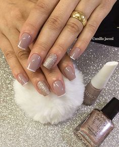 Ideas Gel Manicure Colors Short Nails For 2019 Manicure Colors, Manicure And Pedicure, Hair And Nails, My Nails, Gel Nail Art Designs, Luxury Nails, Perfect Nails, Nail Inspo, Short Nails