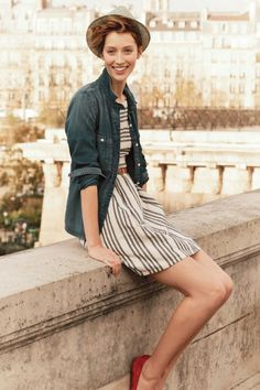 Exclusive pics from Madewell's new catalog + 6 tips to a perfect travel wardrobe! Check it out on R29