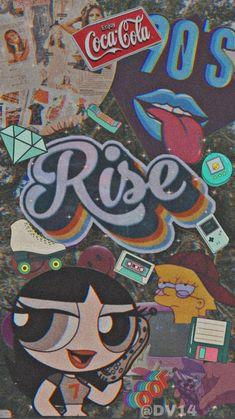 Retro Wallpaper Iphone, Hype Wallpaper, Iphone Wallpaper Tumblr Aesthetic, Black Aesthetic Wallpaper, Iphone Background Wallpaper, Disney Wallpaper, Galaxy Wallpaper, Pretty Wallpapers, Cute Cartoon Wallpapers