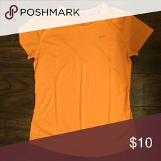 Nike Running Top EUC. Nike Running Top. Bright Orange Nike Tops Tees - Short Sleeve