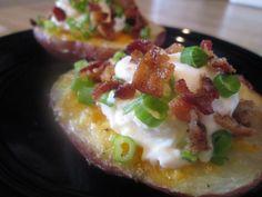 Breakfast Baked Potato | Teaspoon of Life