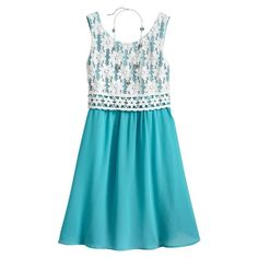 NWT Girls My Michelle Crocheted Dress - Size 12 - easter #MyMichelle #DressyEveryday