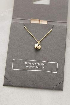 "Charmed Necklace - anthropologie.com ""fortune cookie"""