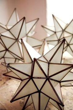"""Moroccan stars.  """"Modern chemistry is discovering molecular, atomic, and subatomic structures strikingly similar to,the geometric patterns of Islamic art and architecture.""""-m.s.schneider"""