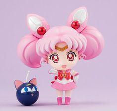 Bishoujo Senshi Sailor Moon - Luna-P - Sailor Chibimoon - Petit Chara Deluxe! (MegaHouse)